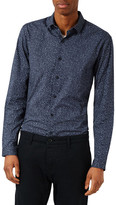 Topman Silly String Skinny Fit Dress Shirt