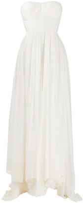 Maria Lucia Hohan Sheila draped silk gown