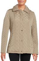 Calvin Klein Water-Resistant Quilted Coat
