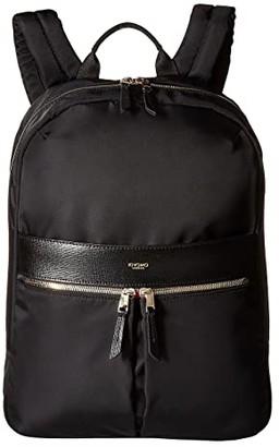 Knomo London Mayfair Beauchamp Backpack (Black) Backpack Bags