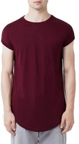 Topman Drop Shoulder Longline T-Shirt