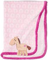 Hudson Baby Coral Fleece 3D Animal Blanket, Pink (Discontinued by Manufacturer) by