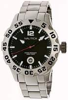 Nautica Men's Metal N17549G Silver Stainless-Steel Quartz Watch
