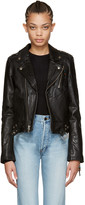 BLK DNM Black Leather Classic Moto Jacket