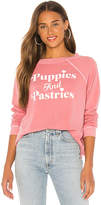 Wildfox Couture Puppies And Pastries Sommers Sweatshirt