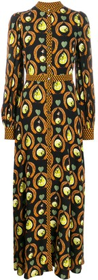 Temperley London Printed Maxi Dress