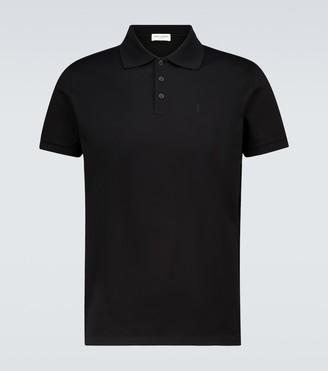 Saint Laurent Short-sleeved polo shirt