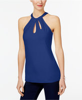 INC International Concepts Cutout Halter Top, Created for Macy's