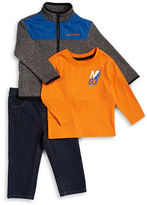 Nautica Baby Boys Zip-Up Jacket, Tee and Jeans Set