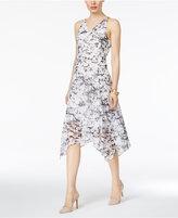 Thalia Sodi Beaded Handkerchief-Hem Dress, Only at Macy's