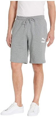 Puma Classics Shorts 10 (Medium Gray Heather) Men's Shorts