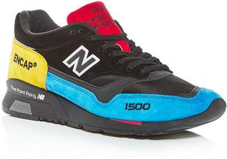 New Balance Men's Made in England 1500 Suede Low-Top Sneakers