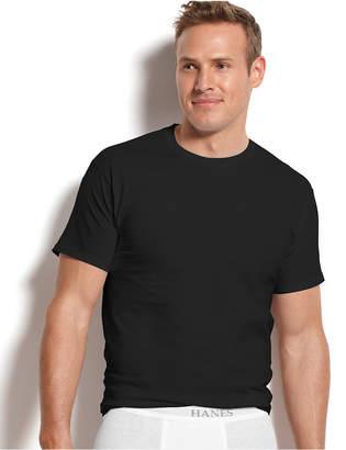 Hanes Men Platinum FreshIQ Underwear, 4 Pack Crew Neck Undershirts