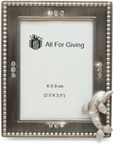 All For Giving Dolphin Metal and Crystal Photo Frame