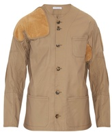 J.w.anderson Suede-patch Hunting Jacket
