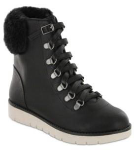 Mia Mikayla Combat Boots Women's Shoes