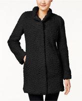 Kenneth Cole Faux-Fur Walker Coat