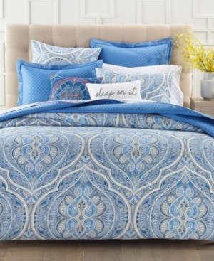 Charter Club Damask Designs Amara Paisley 3-Pc. Full/Queen Comforter Set, Created for Macy's Bedding