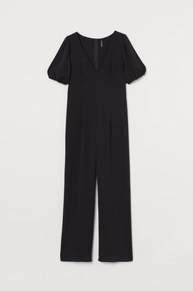 H&M V-neck Jumpsuit