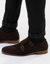 Hugo By Hugo Boss Suede Monk Shoes