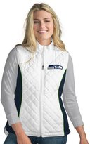 NFL Women's Seattle Seahawks Tackle Me Quilted Vest