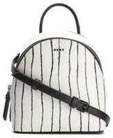 DKNY Women's Mini Backpack Twine Stripe