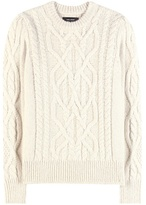 Isabel Marant Gayle Baby Alpaca And Merino Wool-blend Knitted Sweater