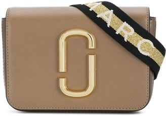 Marc Jacobs Hip Shot logo strap bag