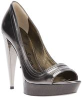 Lanvin open toe pump