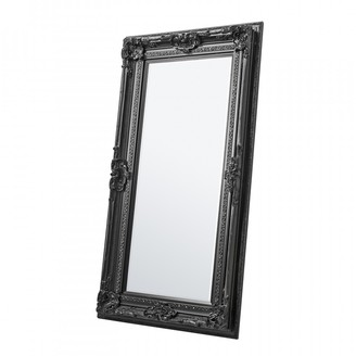 Gda Varden Floor Mirror Black