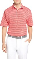 Bobby Jones Men's Liquid Cotton Bird's Eye Stripe Polo