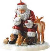 Royal Doulton Father Christmas 2017: A Woodland Christmas