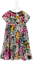 Burberry floral print dress - kids - Silk - 4 yrs