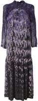 Raquel Allegra tie-dye print maxi dress