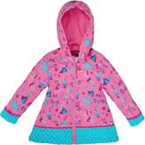 Stephen Joseph Little Girls' All Over Print Rain Coat