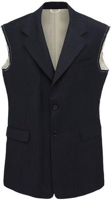 Raf Simons Sleeveless Wool Blazer