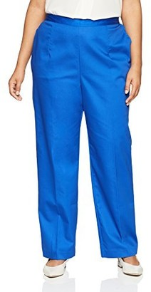 Alfred Dunner Women's Plus-Size Proportioned Medium Pant