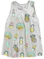 Flowers by Zoe Girl's Cactus Open Back Top