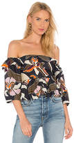 Apiece Apart Ventana Off Shoulder Top