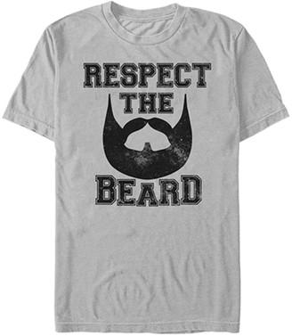 Fifth Sun Men's Tee Shirts SILVER - Silver Collegiate Beard Crewneck Tee - Men