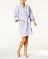 Charter Club Waffle-Textured Wrap Robe, Only at Macy's