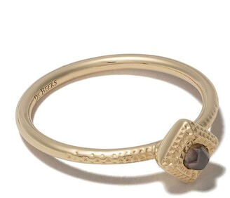 De Beers 18kt yellow gold Talisman rough diamond ring