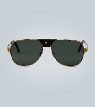 Cartier Eyewear Collection Aviator-style sunglasses
