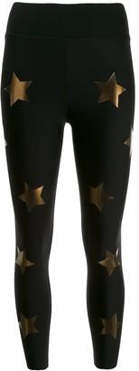 ULTRACOR Sprinter High KO star-print leggings