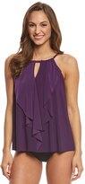 Miraclesuit Suit Yourself Ruffle Peephole Tankini Top 8137954