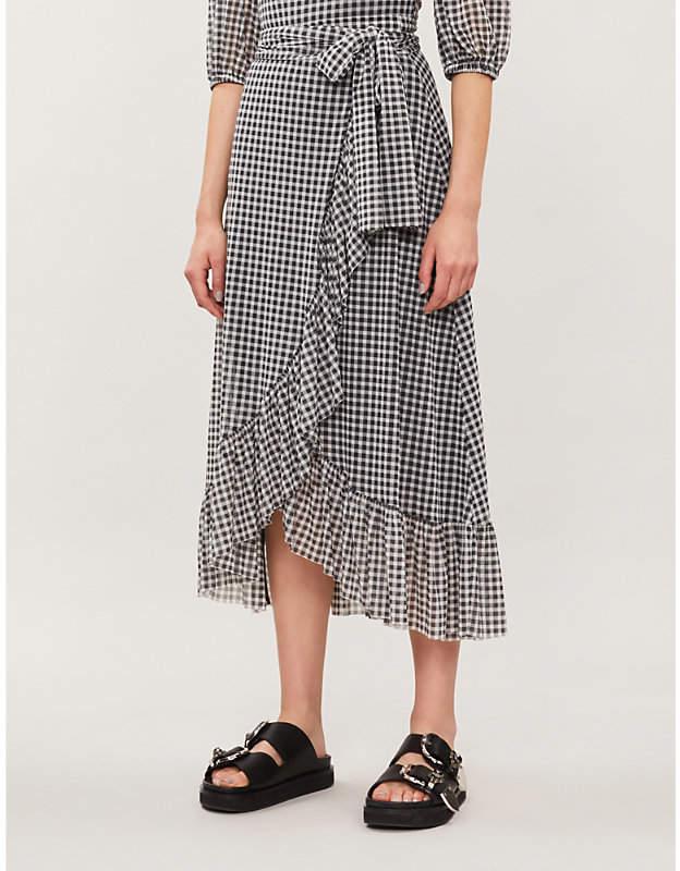 c7f04402 Ganni Polka Dot Skirt - ShopStyle