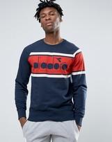 Diadora Sweatshirt With Retro Large Logo