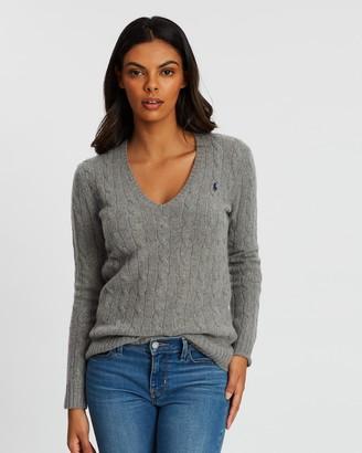 Polo Ralph Lauren Kimberly Classic Long Sleeve Sweater