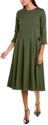 Max Mara Pdressa A-Line Dress