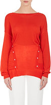 Nina Ricci WOMEN'S WOOL-SILK-CASHMERE SWEATER